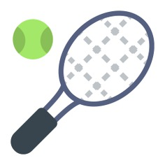 See more icon inspiration related to tennis, ball, racket, sports and sportive on Flaticon.
