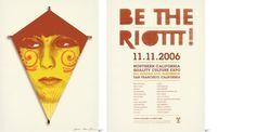 Project: Be The Riottt — National Forest #type #poster #texture