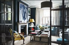 Splendid Sass: BUNNY TURNER ~ DESIGN IN LONDON #interior #house #modern #design #home