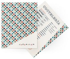 Art of the Menu: Jazzatlán #jazz #menu