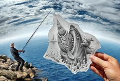 Photography by Ben Heine #creative #photography