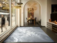 latest Carpet Trends - season 2016 / 2017 | Colors & Designs - InteriorZine.com - #floor, #rugs, #carpets, #trends