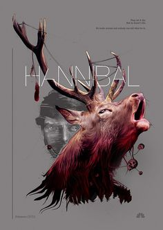 Spizak posters, HANNIBAL #illustration #series