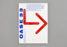Oase / Journal for Architecture (Karel martens) | designers books #martens #karel #oase