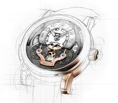 loved inineumann #illustration #watch #hair #germany #canyon #montblanc #ini neumann