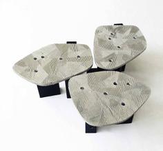 Furrow Table by Taeg Nishimoto