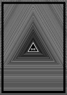 Ian Walsh Design #die #luke #design #triangle #poster #kitt