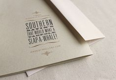 design work life » Student Work: Mallory Smith: Southern Sayin's #typography