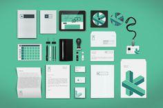 kutia web agency on Behance #agency #branding #stationary #design #graphic #prishtina #colorful #identity #minimal #webdesign #web #new