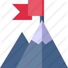 See more icon inspiration related to mission, mountain, flag, business and finance, achievement, objective, strategy, goal, winner, education, flags, landscape, mountains and nature on Flaticon.
