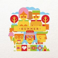 Bring my Summer Back - Fernando Volken Togni #back #bring #summer #illustration