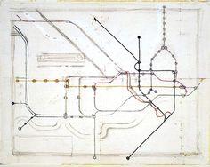 A Perfect Design? - Jamie Wieck - Design, Illustration & Creative Thinking #subway maps #information design #data visualisation #beck