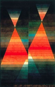 Tumblr #geometry #klee #double #painting #tent #paul