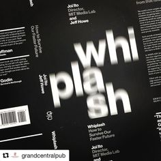 "Pentagram on Instagram: ""Repost @grandcentralpub ・・・ Straight from the printer, it's the cover of upcoming game-changer WHIPLASH by"