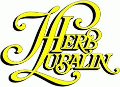 |||| Herb Lubalin |||| #type #lubalin #herb #logo