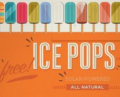 NOTED: top pops. #type #ice #vintage