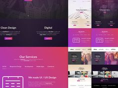 20 Free Sketch Landing Page Template You Must Download