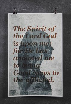 Good News #design #god #overlay #poster design #jesus #spirit #good news