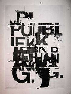 FFFFOUND! | Public space poster 2 by ~patswerk on deviantART #screen #print