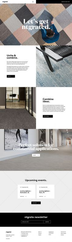 carpentry carpenter webdesign website beautiful modern minimal best award site of the day ntgrate awwwards mindsparkle mag designblog