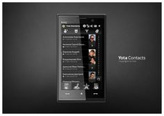 Yota Contacts #phone #ux #contacts #ui #mobile #yota