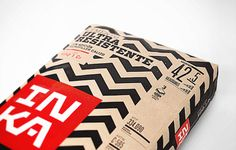 Crit* InkaCement The Dieline #cement