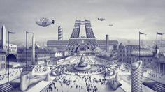 Caravan Palace, Ugo Gattoni #france #illustration