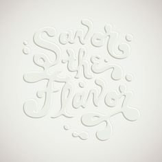 Friends of Type | Jessica Hische #lettering