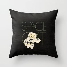 Space Cat Pillow