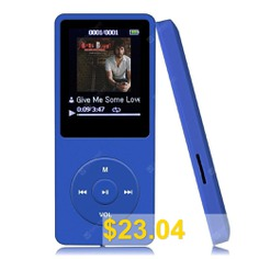 8GB #MP3 #Player #70 #Hours #Playback #Lossless #Sound #Music #Player #- #BLUE