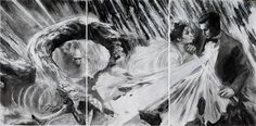 Studio Visit with Nimit Malavia | Hi Fructose Magazine #drama #couple #white #black #rain #and #drawing