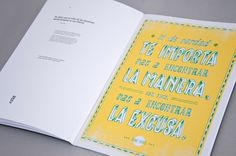 22DG Portfolio #2012 #design #book #quotes #handwritting #poster #22dg #editorial #typography