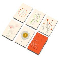 D&H - PRINT #card #design #minimalistic #flowers