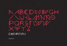 Departure, POGO | art & design boutique #pogo #departure #design #type #typography