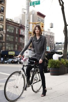 41111biker_9502Web.jpg (500×750) #york #bike #girl #new