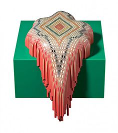 Coloured pencil sculptures by Lionel Bawden #coloredpencil #sculpture #art