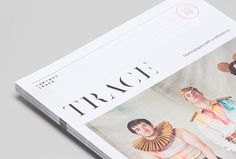 Trace Magazine by Socio Design and Mash Creative #graphic design #magazine #editorial