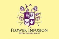 Gas Creative Identity #garden #logo #flower #infusion