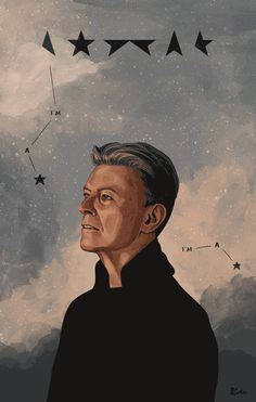 Bowie - Illustration - Helen Green