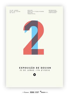 Exposição 1 & 2 on the Behance Network #eseig #design #ribeiro #gilberto #exposio