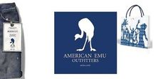 Just Jack Design #emu #clothing #packaging #campaign #american #outifitters