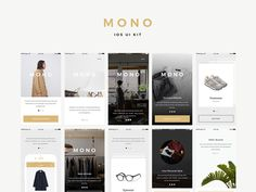 Mono iOS UI Kit Samples #iOS #ui