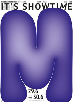 Ambroos Stoffels | PICDIT #design #graphic #art #purple #type #typography
