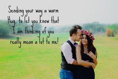 2020 Happy Hug Day Quotes For My love