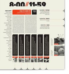 24//7 - Tel Aviv based Magazine by Moshik Nadav on the Behance Network #typography