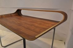 The Continue Desk by Francesco Angiulli » CONTEMPORIST #wood #desk