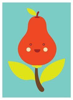 FFFFOUND! #illustration #color #fruit