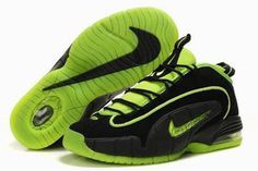 Nike Air Max Penny 1 Men's Black/Green #shoes