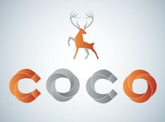 Coco Vodka on the Behance Network #logo #branding #typography