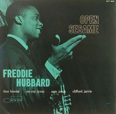 Freddie Hubbard, Open Sesame Blue Note Jazz album cover